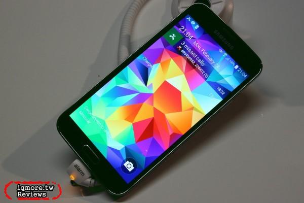[MWC 2014] 三星 Samsung GALAXY S5 在西班牙現場觀察 軟體篇,實測HDR效果