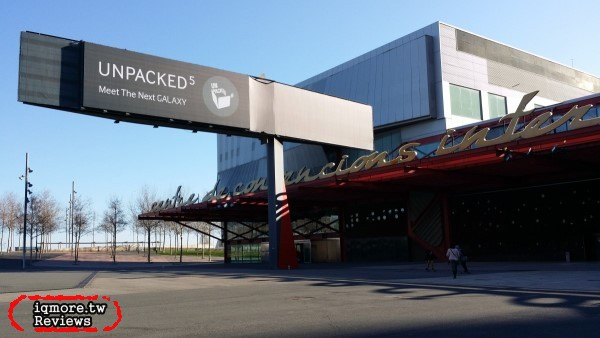 [MWC 2014] 三星 Samsung Unpacked 5 現場報導,公布 Samsung GALAXY S5、Samsung Gear 2 、Samsung Gear 2 Neo、Samsung Gear Fit