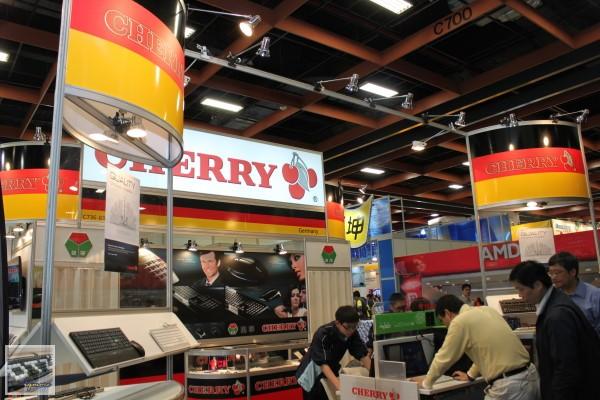 100台北資訊月:Cherry (台灣代理:鍵寧企業),Cherry MX-Board 2.0 G80-3800、Cherry JK-03曝光
