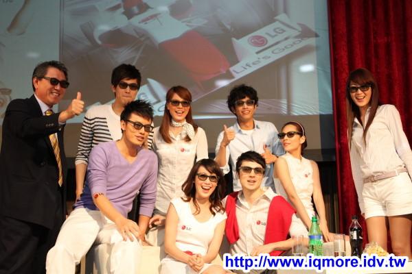 2011年LG 3D Smart Life首波主打 LG CINEMA 3D電視 發表記者會