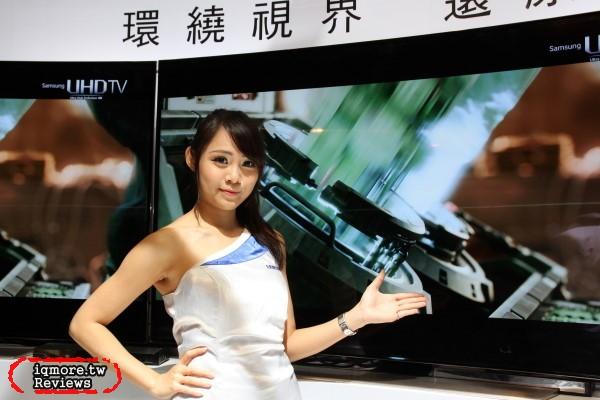 Samsung Curved UHD TV 體驗會,曲面電視配上4K解析度