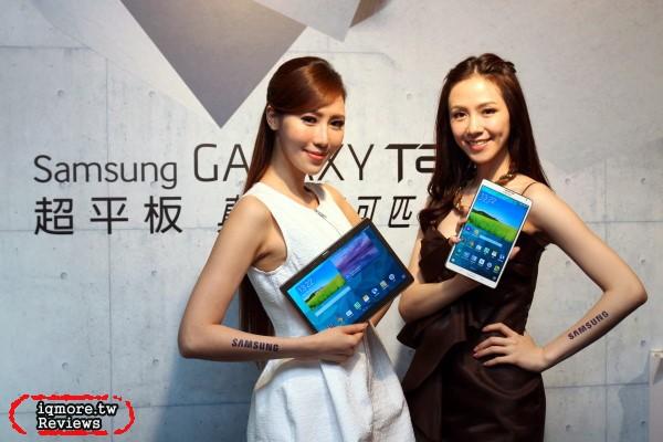 Samsung GALAXY Tab S 記者會,採用2K解析度的Super AMOLED