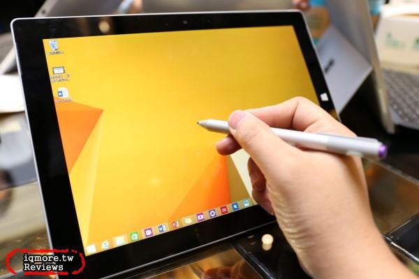 微軟 Microsoft Surface 3 體驗會,採用最新高效能Intel Atom Cherry Trail X86處理器於5月5日上市