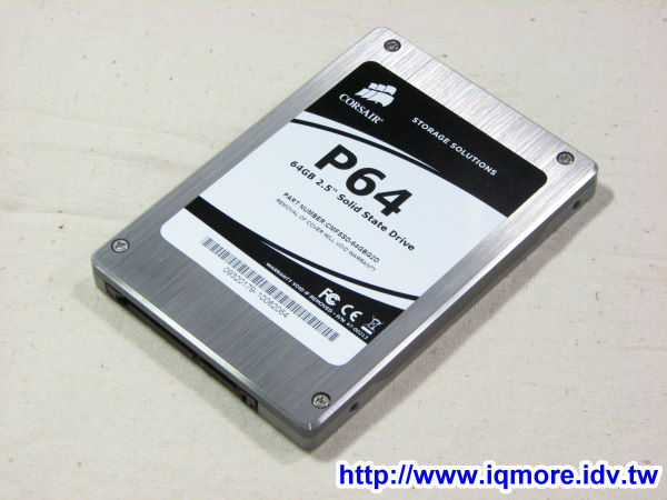 CORSAIR CMFSSD-64GBG2D MLC固態硬碟評測