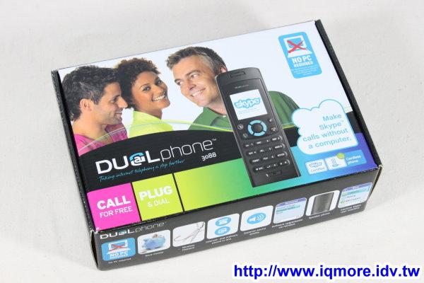 DUALphone Skype/DECT 無線雙用電話 RTX3088 評測