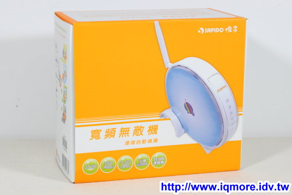 SAPIDO (傻多) RB-1232 N速多網型無線寬頻分享器評測