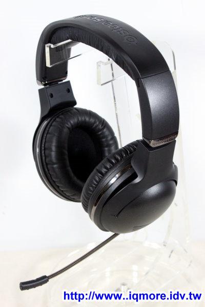 SteelSeries 7H 高階電競耳機麥克風評測