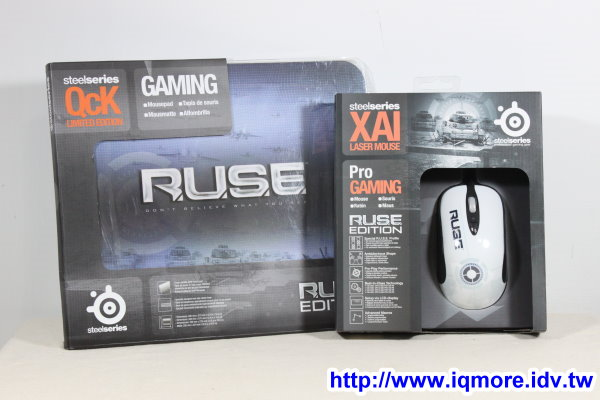 SteelSeries R.U.S.E. Xai滑鼠與QCK布墊評測
