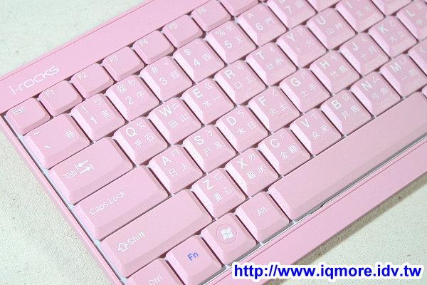 i-rocks KR-6523 剪刀腳薄膜鍵盤「粉紅鍵盤版本」 上市前獨家曝光!