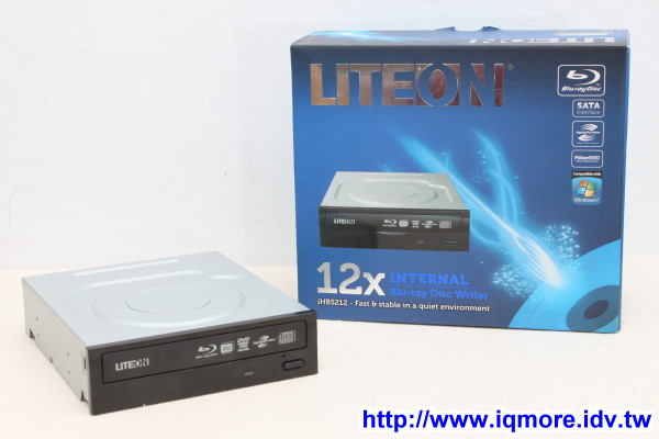 Liteon iHBS212 內接式高速藍光燒錄機評測,3000元以內的藍光燒錄機