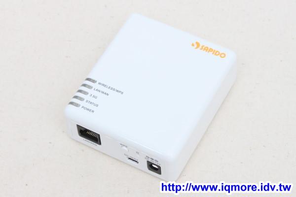 SAPIDO (傻多) MB-1112 N速隨身型行動寬頻分享器評測