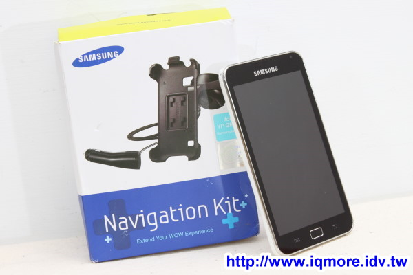 Samsung GALAXY S WiFi 5.0 (YP-G70) 行動上網裝置 評測,車上導航、行車記錄影片實錄