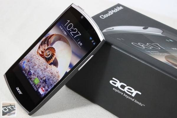 Acer CloudMobile S500 Android 雲端手機 評測, AcerCloud 操作測試