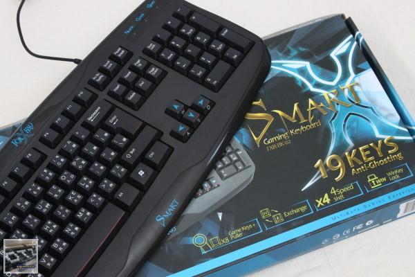 FOXXRAY (廣鼎國際) Smart 靈動戰狐遊戲鍵盤 (FXR-BK-02) 評測,最多19鍵不衝突