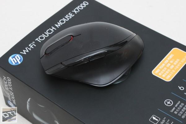 HP Wi-Fi Touch Mouse X7000 無線滑鼠 評測,透過Wi-Fi 無線傳輸