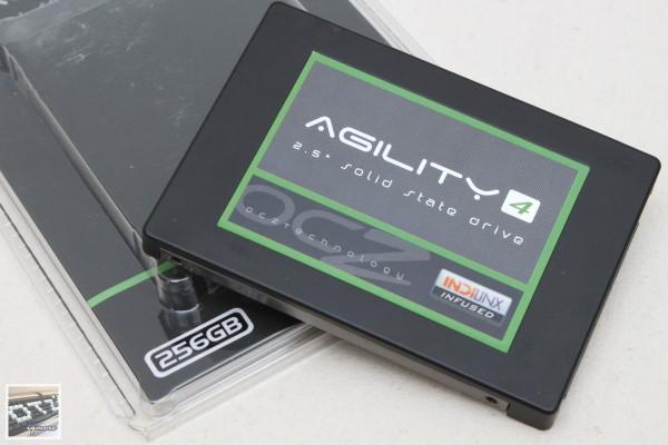 OCZ Agility 4 256GB SATA 3 固態硬碟 評測,Indilinx Everest 2 控制晶片