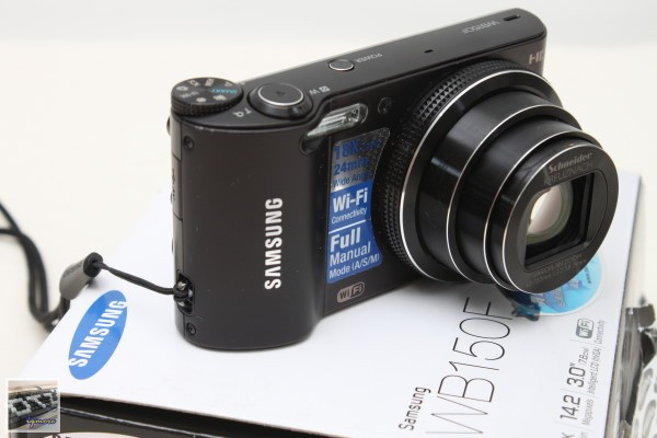 Samsung SMART Camera WB150F 數位相機簡測,Wi-Fi相機立即分享照片