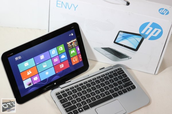HP Envy x2 家用筆記型電腦 評測,兼顧平板與筆電設計