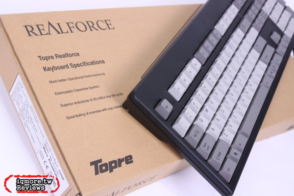 Topre Realforce 104UB-DK 電容式鍵盤 評測, 台灣限定版本 全域45g