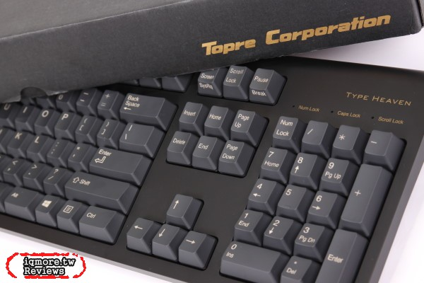 Topre Type Heaven 靜電容量式 鍵盤評測,全域45g 價格更親民