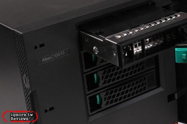 宏碁 Acer Altos C100 F3 伺服器 評測, Intel Xeon E3