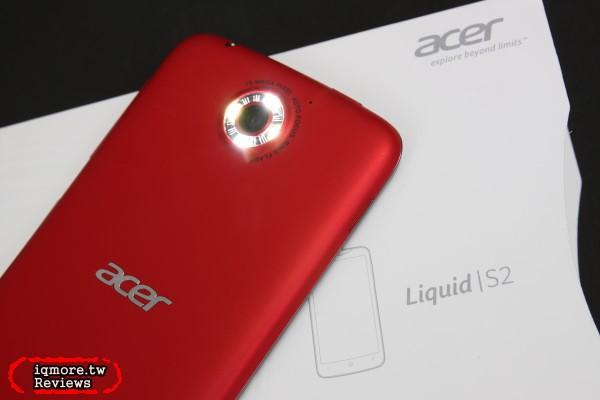 宏碁 Acer Liquid S2 S520 旗艦智慧型手機 評測,手機支援4K錄影
