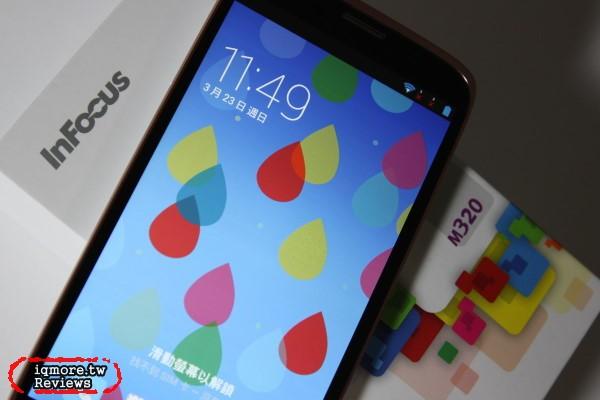 InFocus M320 5.5吋 雙卡雙待 智慧型手機 評測,MTK  MT6592  八核心 處理器
