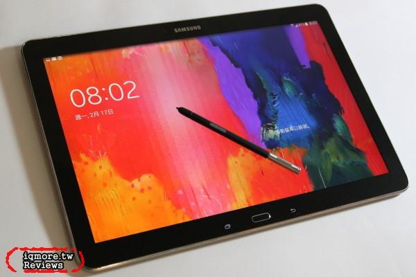 三星 Samsung GALAXY Note Pro 12.2 吋 Android 智慧型平板 評測,螢幕2K解析度 2560 x 1600