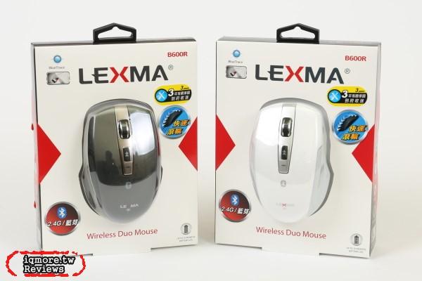 LEXMA B600R 無線藍牙滑鼠評測,更提供2.4GHz無線雙模功能