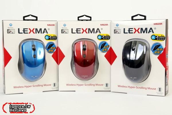 LEXMA M820R 無線藍光滑鼠評測,499元三年保固到府收送
