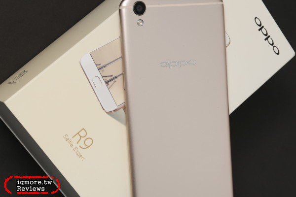 OPPO R9 (x9009) 手機評測,首推1600萬高畫素搭配F2.0大光圈自拍鏡頭