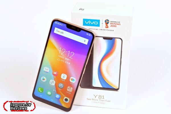 vivo Y81 手機評測,不到6千就有6.22吋88%螢幕佔比全面屏設計