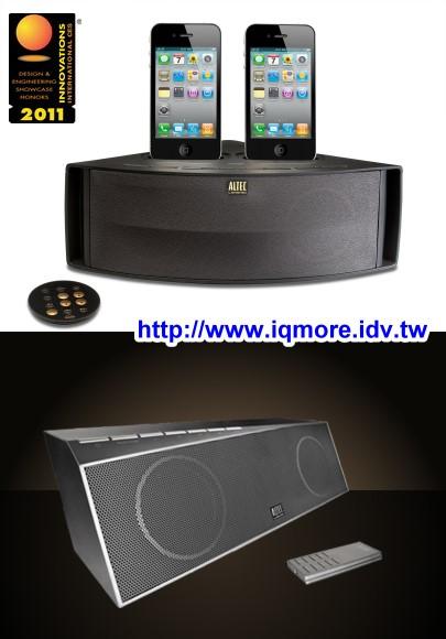 CES 2011: ALTEC LANSING Octiv Duo M202 雙底座iPhone音響、inMotion Air IMW725 無線喇叭