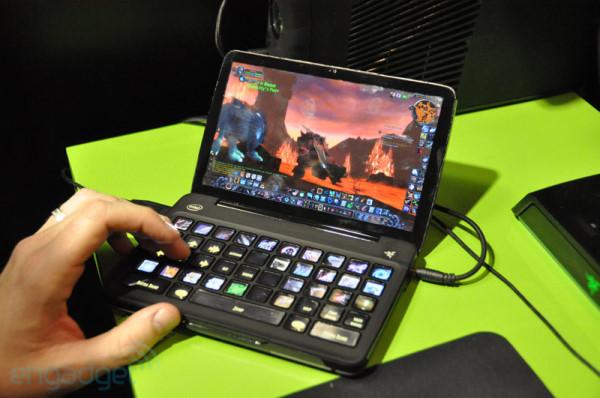 CES 2011: Razer Switchblade 移動PC遊戲概念機