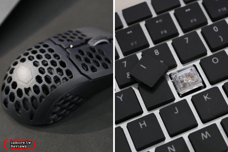 【Computex 2019】Cooler Master 展出歐姆龍矮軸鍵盤SK851,以及輕量化洞洞鼠MM710