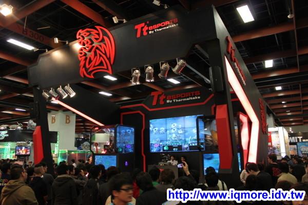 2011 台北國際電玩展 曜越科技 Tt eSPORTS