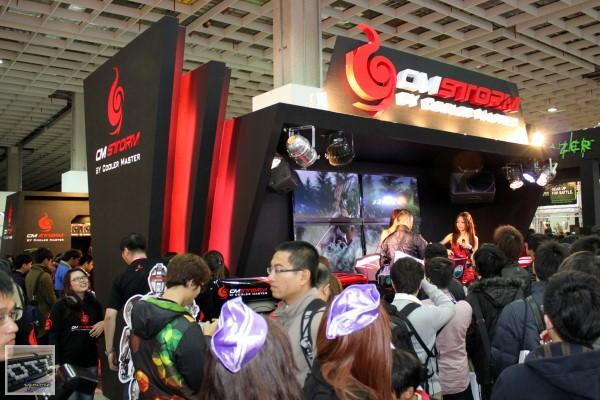 TGS 2012: CM Storm,展出 CM Storm Quick Fire Pro、CM Storm Trigger
