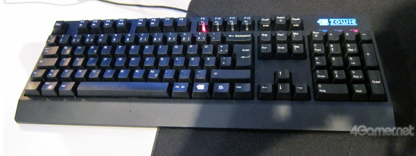 ZOWIE 第一把機械式鍵盤 ZOWIE Celeritas 曝光
