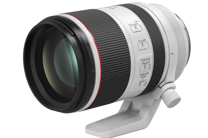 Canon 推出2支 RF 鏡頭:RF 70-200mm f/2.8L IS USM 及 RF 85mm f/1.2L USM DS