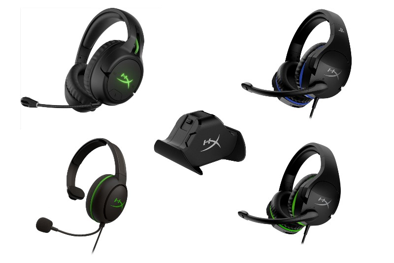 HyperX 於 Gamescom推出Xbox與PS4多樣周邊:HyperX CloudX Flight、Stinger、Chat、ChargePlay Duo for Xbox One