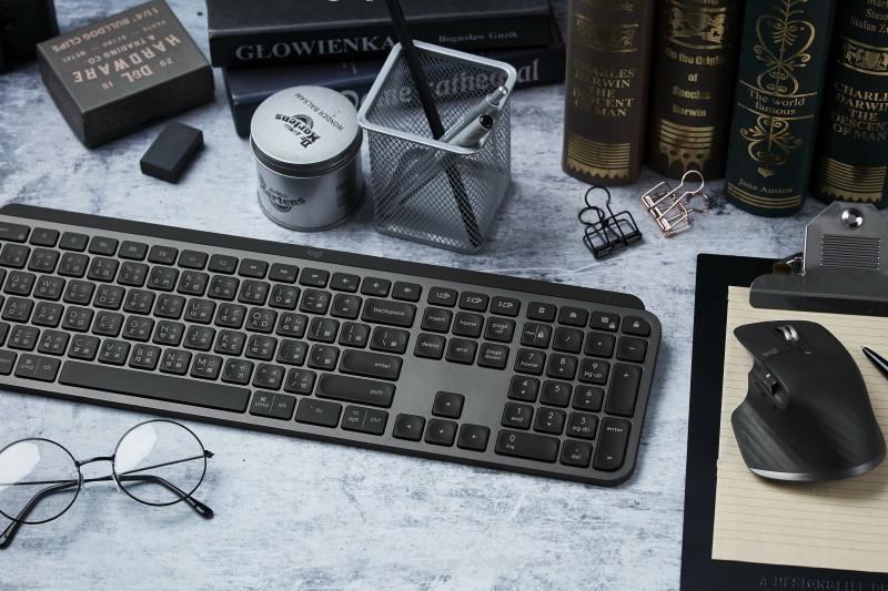 羅技 Logitech 推出頂級商務旗艦機種MX Master 3、MX Keys智能鍵盤