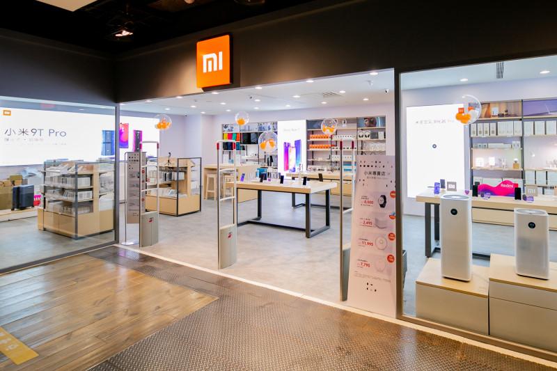 小米專賣店進駐新光三越台北南西店百貨,9月20日盛大開幕