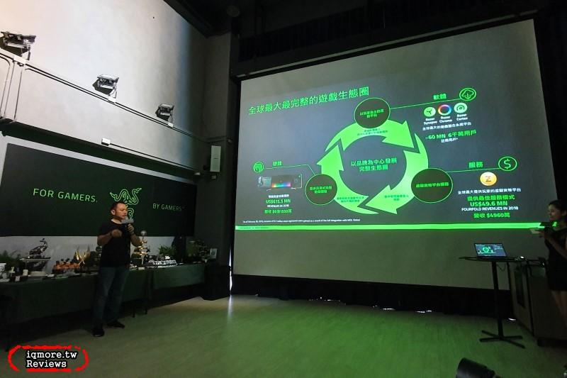 官方影片解說 Razer Viper & Huntsman 新品特色,Razer 創立全球最大整合遊戲生態圈記者會分享