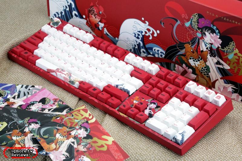 Varmilo 阿米洛推出中國風「錦鯉娘」主題,台灣即將開始預購