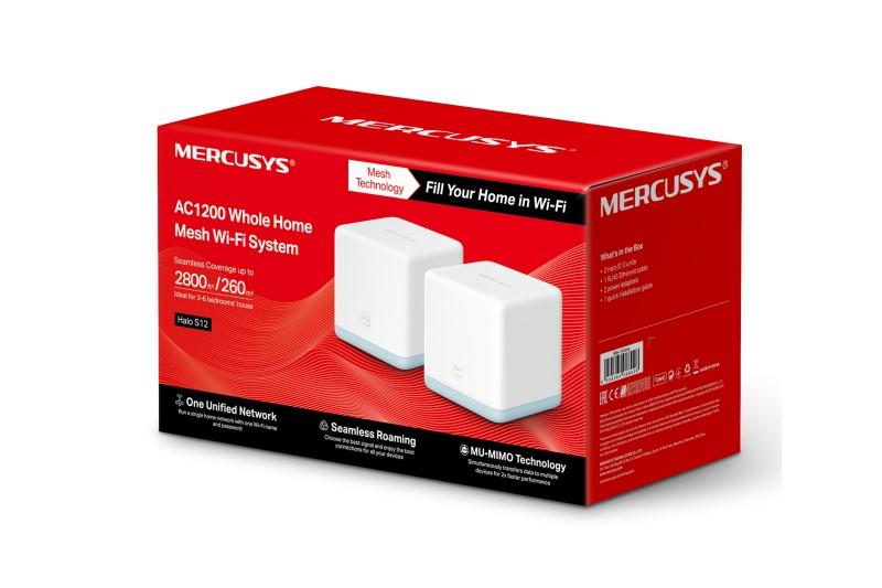 Mercusys Halo S12 Mesh路由器,讓小資族輕鬆建立「零死角」網路環境