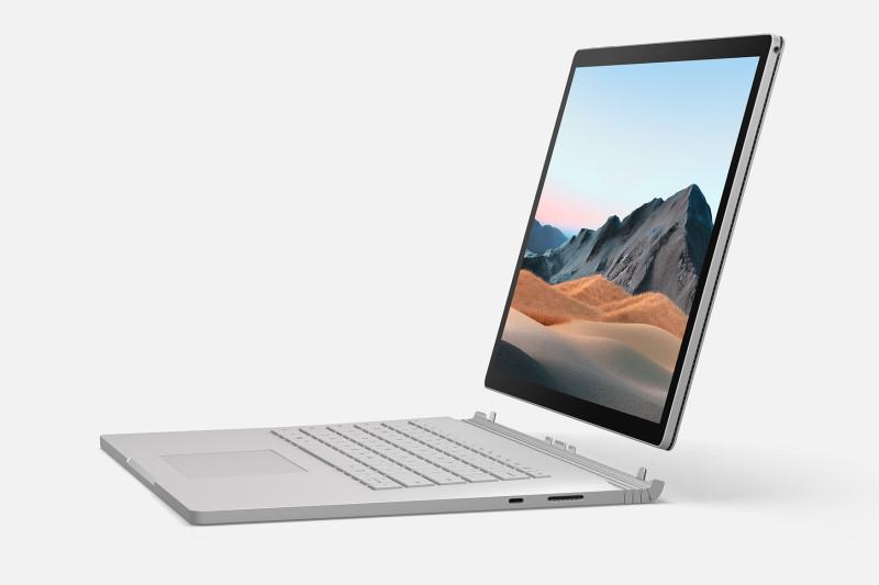 台灣上市微軟Microsoft Surface Book 3,同時首度亮相Surface Pro X、Surface Go 2