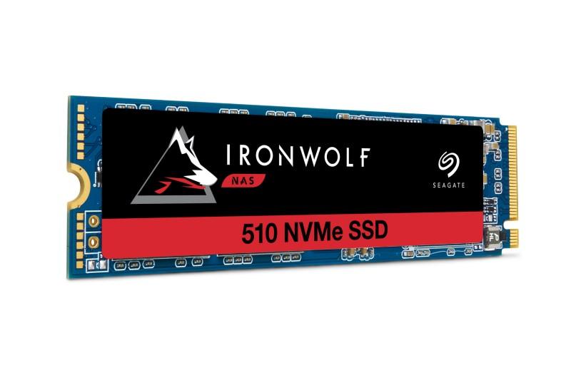 希捷科技推出企業級 NAS 打造的 PCIe SSD:IronWolf 510 SSD