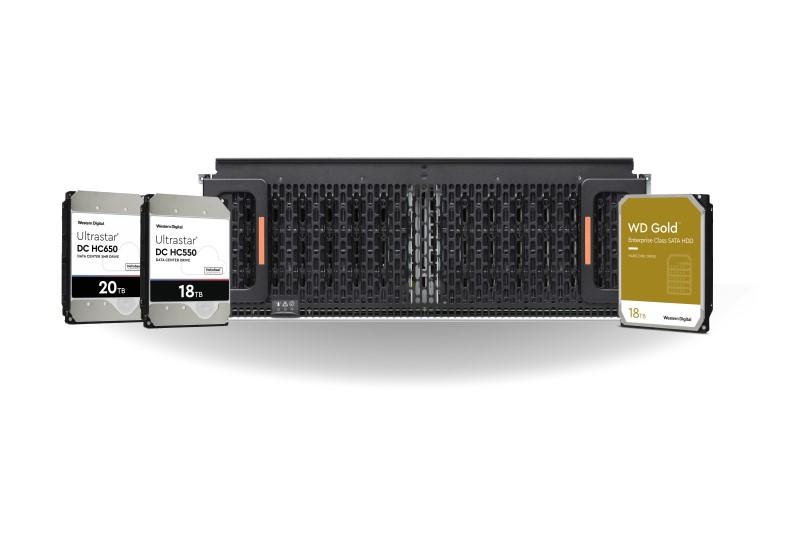 大容量來了!Western Digital 推出16TB 與 18TB容量的Ultrastar HDD、WD Gold HDD及Ultrastar儲存平台