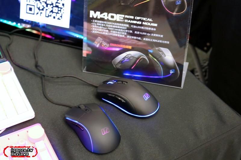 GAMFORCE 2020:iRocks 展出 6000萬次歐姆龍 iRocks M40E 滑鼠 等產品