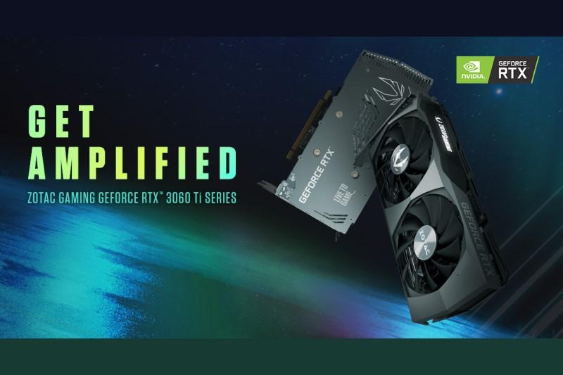全新推出 ZOTAC GAMING GeForce RTX 3060 Ti 系列,包含 Twin Edge OC 和 Twin Edge